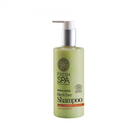 Natura Siberica Fresh SPA, wzmacniający szampon do każdego rodzaju włosów Biała Brzoza, 300ml