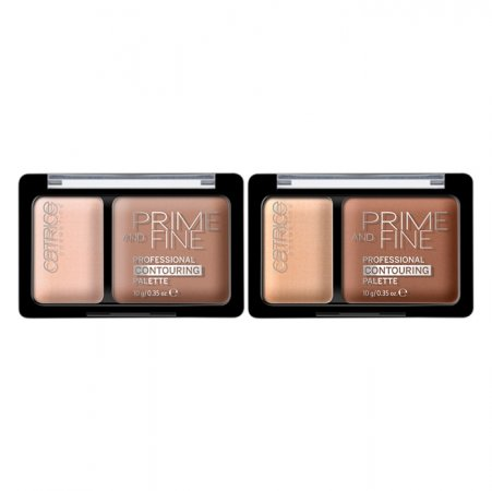 Catrice Prime and Fine, paletka do konturowania, 10g