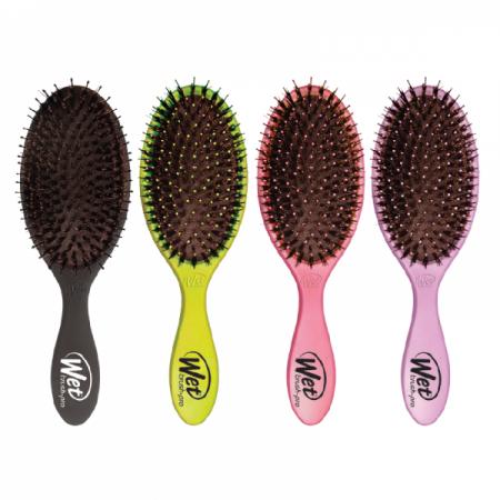Wet Brush Shine, szczotka rozplątująca włosy nadająca połysk, różne kolory
