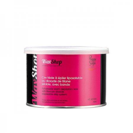 Peggy Sage, wosk do depilacji rozpuszczalny w letniej temperaturze, róźany, 400ml, ref. 601060