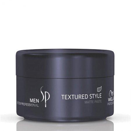 Wella SP Men Textured Style, pasta matująca do stylizacji włosów dla mężczyzn, 75 ml