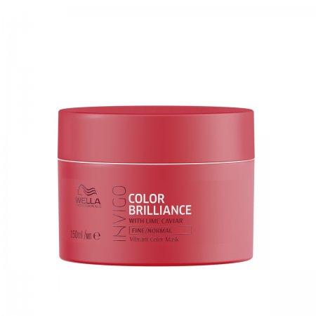 Wella Invigo Color Brilliance, maska do włosów farbowanych, normalnych i cienkich, 150ml