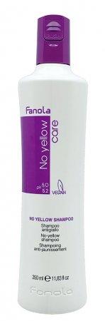 Fanola No Yellow, szampon ochładzający odcień blond, 350ml