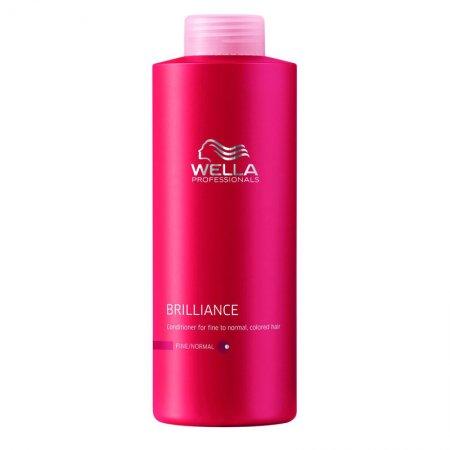 Wella Brilliance odżywka do włosów farbowanych, cienkich i normalnych, 1000ml