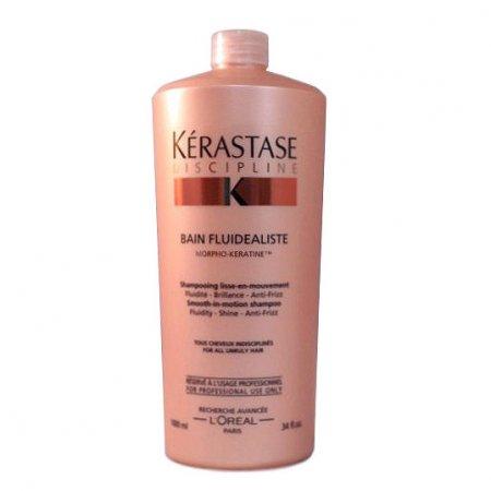 Kerastase Discipline Fluidealiste, wygładzająca kąpiel, włosy uwrażliwione, 1000ml