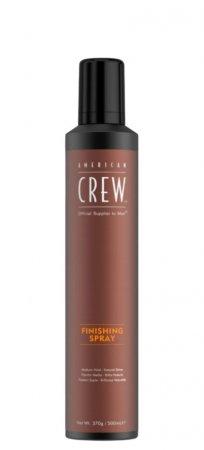 American Crew Finishing Spray, lakier do włosów, 500ml