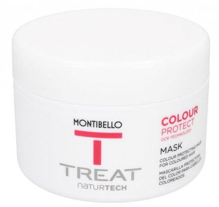 Montibello Treat Naturtech, maska do włosów farbowanych Color Protect, 200 ml