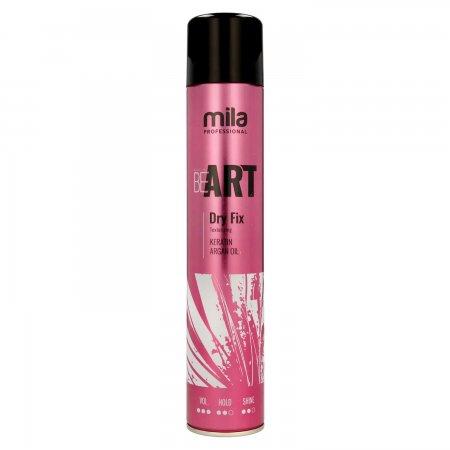 Mila Professional Be Art Dry Fix, lakier suchy, 500ml
