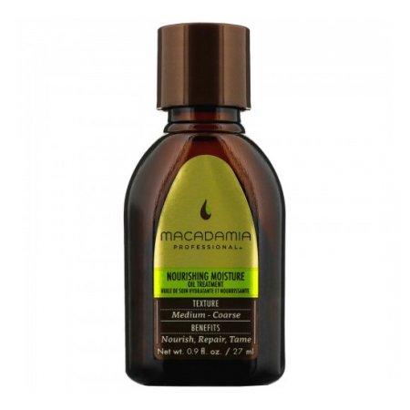 Macadamia Professional Nourishing Moisture, odżywczy olejek przywracający połysk, 27ml