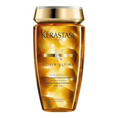 Kerastase Elixir Ultime, luksusowy szampon z olejkami, 250ml