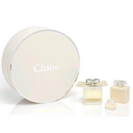 Chloe Chloe, zestaw perfum Edp 75ml + 100ml Balsam do ciała + 5ml Edp (W)
