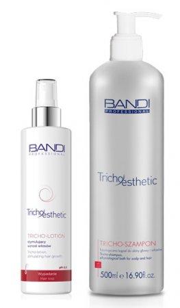 Bandi Tricho-Esthetic, zestaw z kąpielą do włosów oraz lotionem stymulującym wzrost włosów, 500ml + 230ml