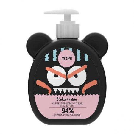 Yope, mydło dla dzieci, Kokos i mięta, 400ml