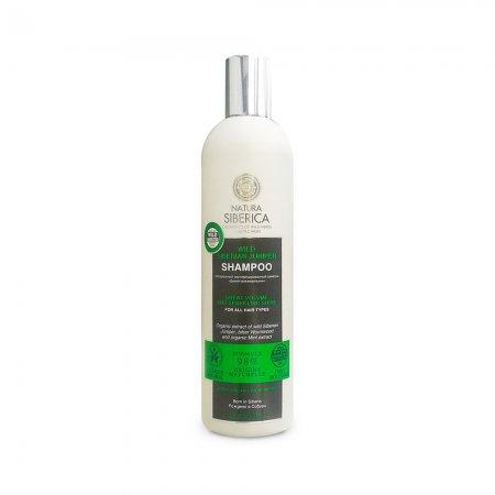 Natura Siberica, szampon do każdego rodzaju włosów Niesamowita Objętość i Połysk, 400ml