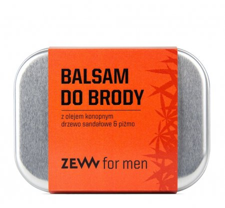 ZEW for Men, balsam do brody z olejem konopnym, 80ml