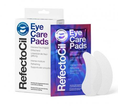 RefectoCil Eye Care Pads 4w1, hydrożelowe płatki pod oczy, 10 saszetek