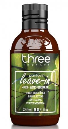 Three Therapy Leave-in 48, regenerujący finiszer przeciw puszeniu się włosów, 250ml