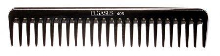 Grzebień barberski Pegasus 406 z twardego kauczuku