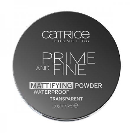 Catrice, wodoodporny puder matujący w kompakcie, Prime and Fine, 010