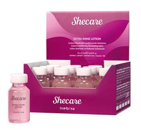 Inebrya Shecare Repair, lotion intensywnie rekonstruujący, 12x12ml