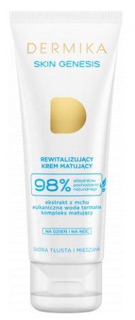 Dermika Skin Genesis, rewitalizujący krem matujący, 50ml
