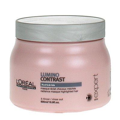 Loreal Lumino Contrast, maska rozświetlająca do włosów z pasemkami, 500ml