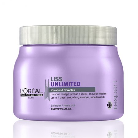 Loreal Liss Unlimited, maska wygładzająca, 500ml