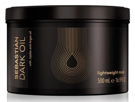 Sebastian Dark Oil, maska z olejkami do nabłyszczania włosów, 500ml