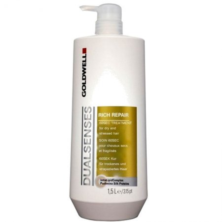 Goldwell Dualsenses Rich Repair, 60 sekundowa maska do włosów, 1500ml