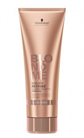 Schwarzkopf BlondMe, keratynowy szampon wzmacniający wiązania, 250ml