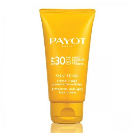 Payot Sun Sensi, przeciwstarzeniowy ochronny krem do twarzy z filtrami SPF30, 50ml
