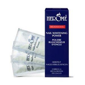 Herome Whitening Power, rewolucyjny wybielacz płytki paznokcia, saszetka 12g