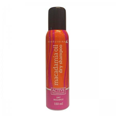 Bioelixire Macadamia Oil & Collagen, suchy szampon, 150ml