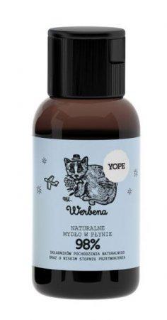 Yope, naturalne mydło w płynie, werbena, 40ml