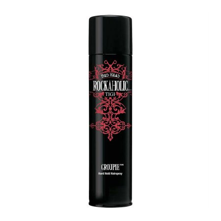 Tigi Rockaholic, Groupie Hard Hold Hairspray, mocny lakier do włosów, 385ml
