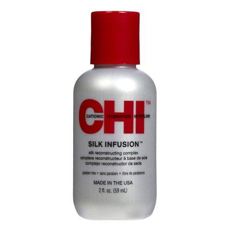 CHI Silk Infusion, odżywczy jedwab regenerujący do włosów, 59ml