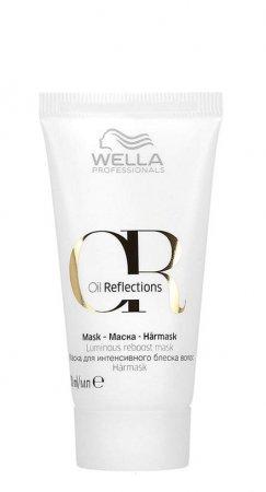 Wella Oil Reflections, maska przywracająca włosom blask, 30ml