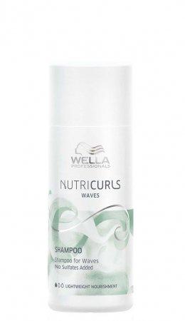 Wella Nutricurls, szampon do fal, 50ml