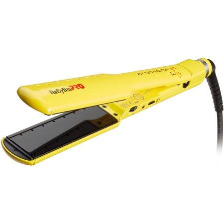 BaByliss PRO Wet&Dry, prostownica do włosów BAB2073EPYE, żółta