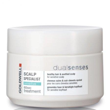 Goldwell Dualsenses Scalp Specialist, 60 sek maska do włosów i skóry głowy, 200ml