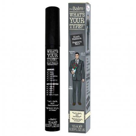 The Balm What's Your Type?, mascara wydłużająca, czarna, 10ml