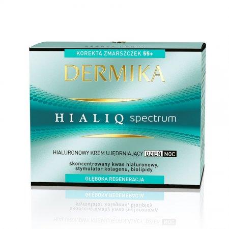 Dermika Hialiq Spectrum, krem ujędrniający 55+, dzień/noc, 50ml