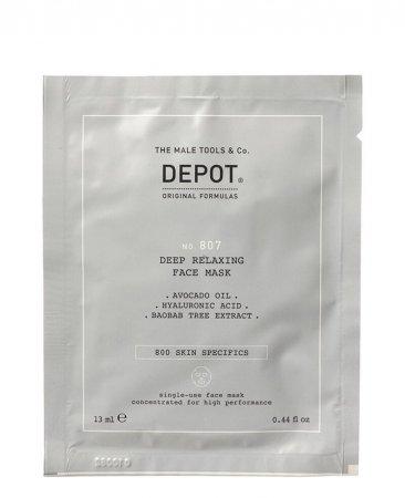 Depot No. 807, głęboko relaksująca maska do twarzy, 13ml