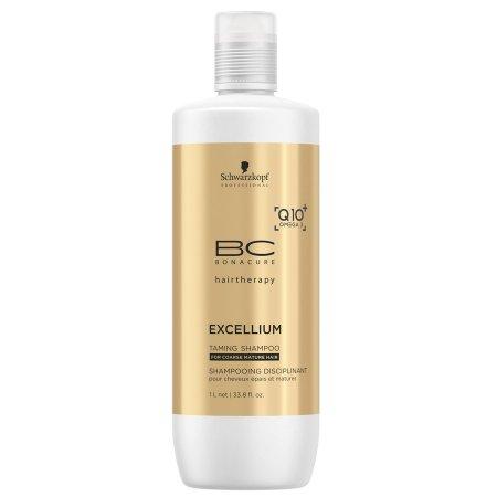 Schwarzkopf BC Excellium Q10, szampon do włosów puszących się, 1000ml
