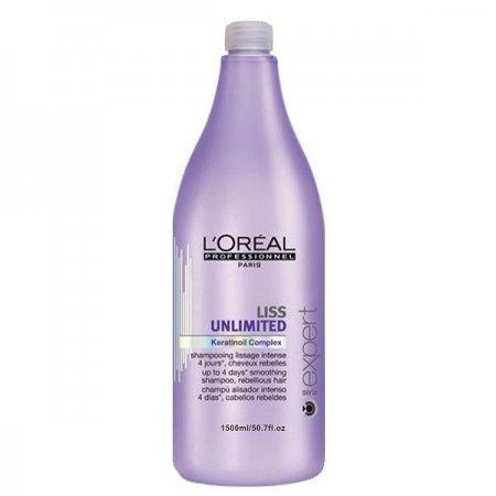 Loreal Liss Unlimited, szampon wygładzający, 1500ml