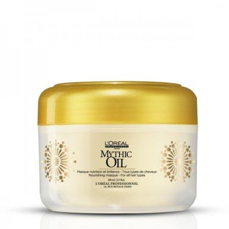 Loreal Mythic Oil, maska do każdego rodzaju włosów, 200ml
