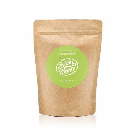 BodyBoom, peeling kawowy do ciała, Boskie Mango, 30g