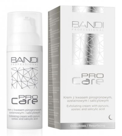 Bandi Pro Care, krem z kwasem pirogronowym, azelainowym i salicylowym, 50ml