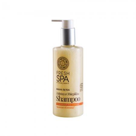 Natura Siberica Fresh SPA, szampon do włosów suchych i zniszczonych Złoty Rokitnik, 300ml