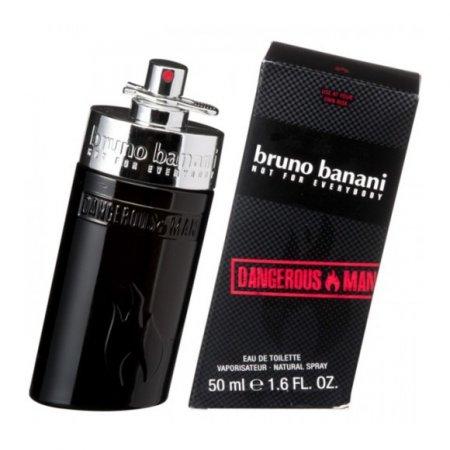Bruno Banani, Dangerous Man, woda toaletowa, 50ml (M)